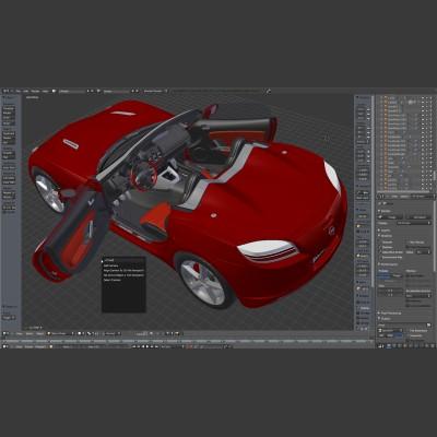 Grafica 3d dgpixel for Programmi rendering 3d