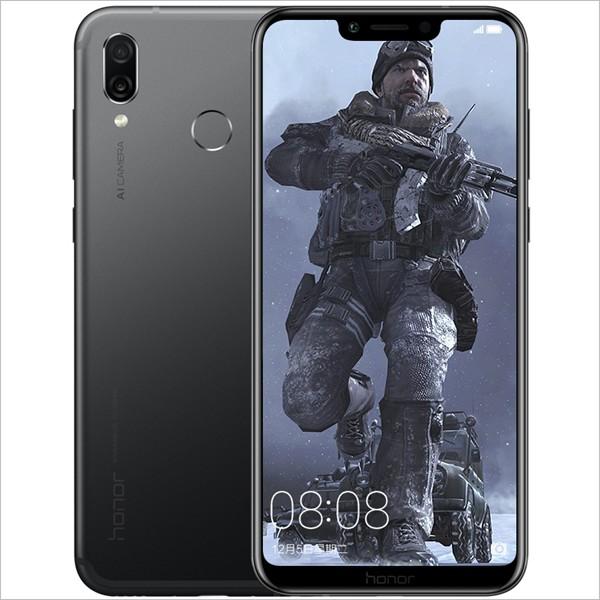 "Huawei Honor Play - Schermo 6.3"", 6GB RAM, CPU Octa Core, Dual AI Camera, Fingerprint (Black)"