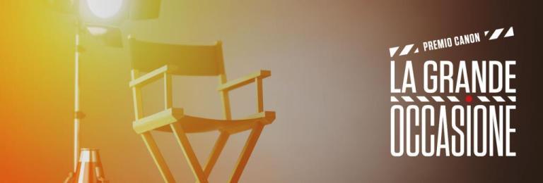 La Grande Occasione, il premio dedicato a videomaker e filmmaker