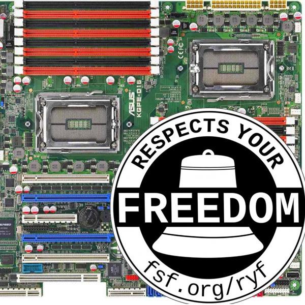"""Altri 6 dispositivi nel catalogo dell'Hardware Libero - """"Respects Your Freedom"""""""