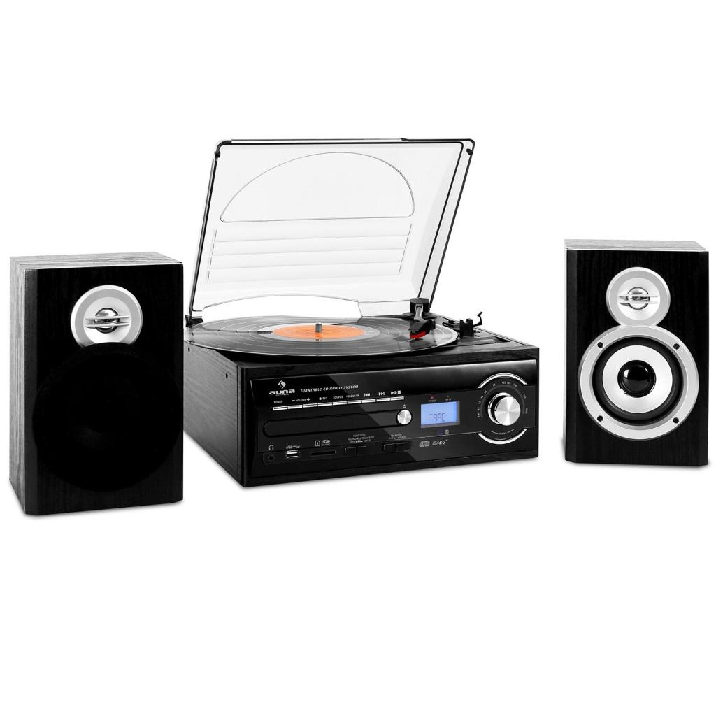 Auna TT-190: lo stereo per registrare da Vinile e Cassette su USB senza pc (ora in offerta!)